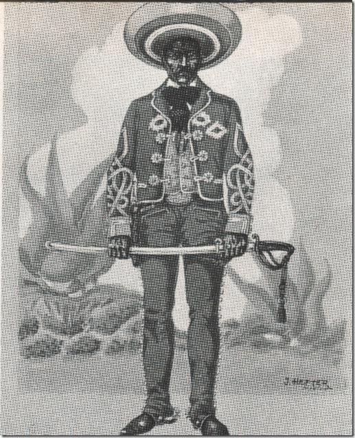 02 - Un historiador militar, J Hefter, pintó asi a un rural