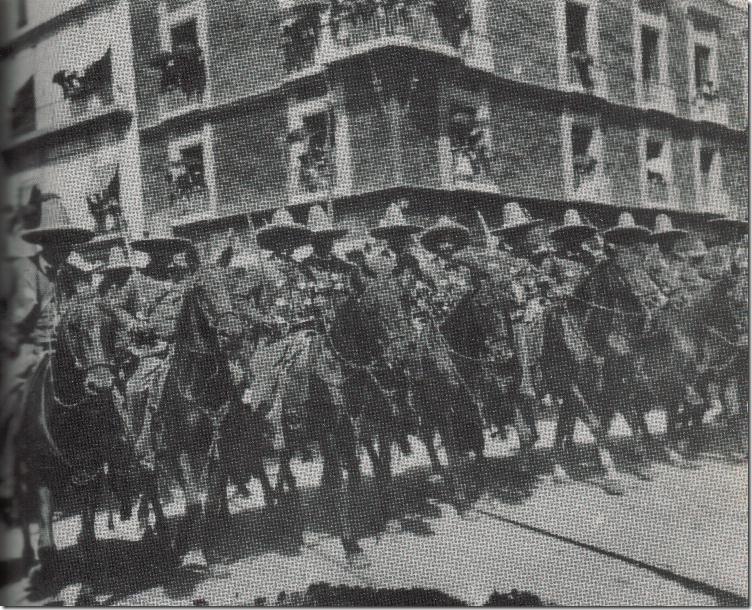 08 - Espléndidos en los desfiles, los rurales eran siempre aclamados