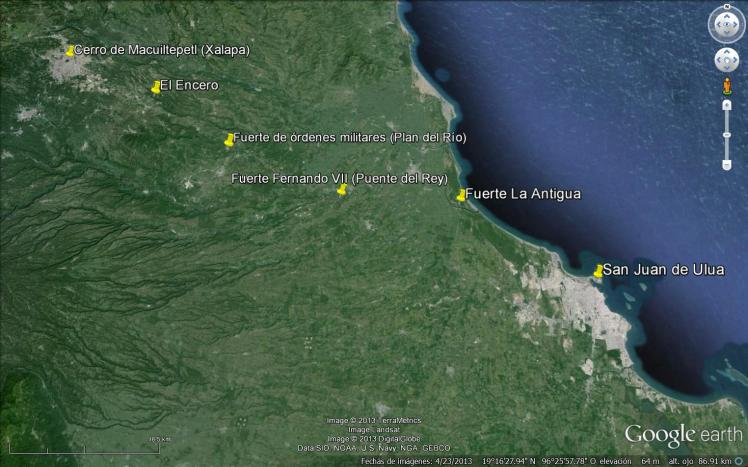 Camino militar Xalapa-Veracruz