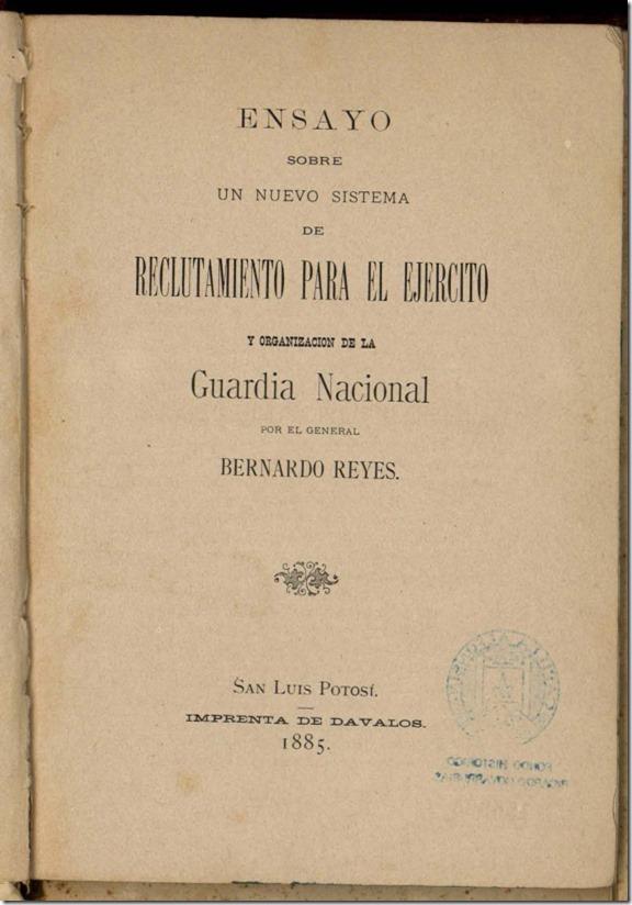 Bernardo Reyes y el intento de modernización del ejército mexicano,1900-1902 Ensayo-sobre-un-nuevo-sistema-de-reclutamiento_thumb