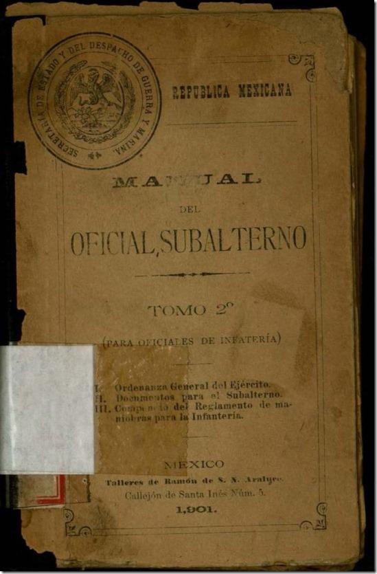 Manual del oficial subalterno