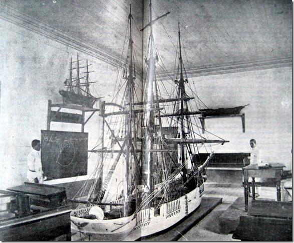 Escuela Naval - Clase de navegación - Veracruz